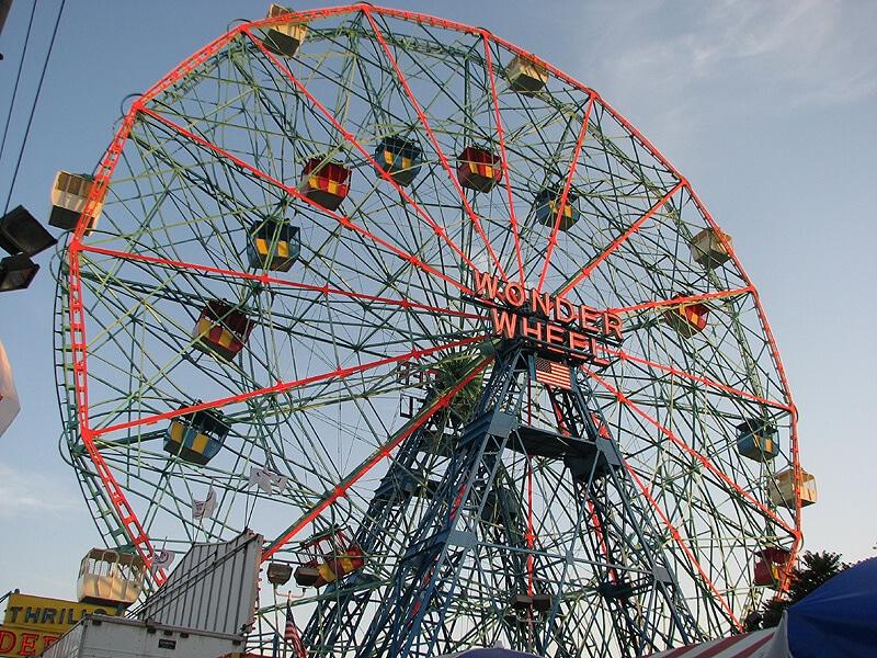 roda gigante magica coney island - Coney Island, uma inusitada atração em Nova York para todas as idades