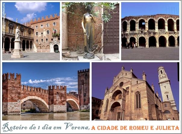 roteiro de 1 dia em Verona - Verona, Itália: roteiro de 1 dia na cidade de Romeu e Julieta