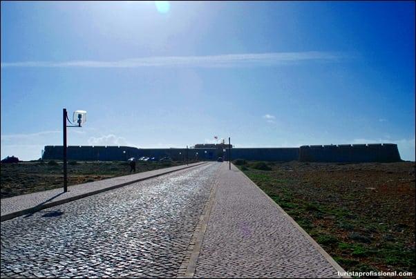 Fortaleza de Sagres - A Ponta de Sagres, aqui termina Portugal