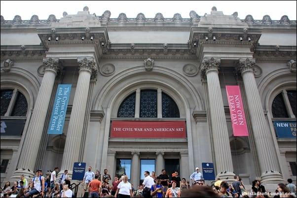 Nova York dicas - Visitando o Metropolitan Museum de Nova York
