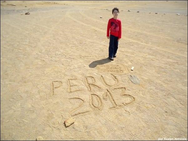 Peru com crianças
