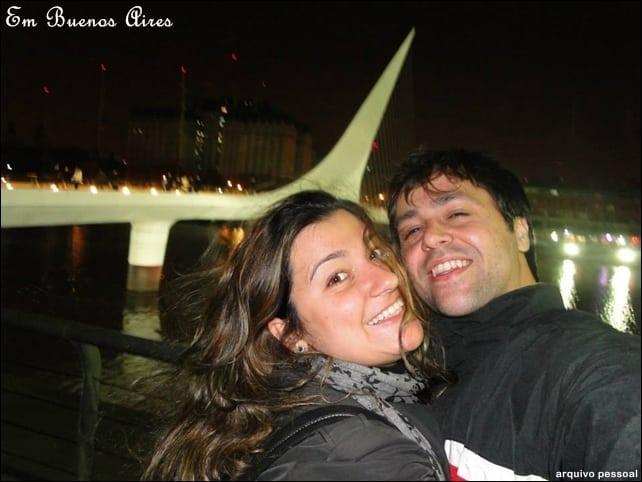 Ponte da mulher - lua de mel em Buenos Aires
