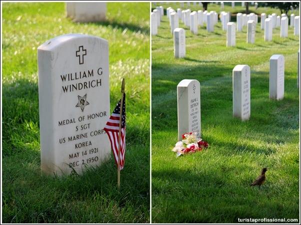 Washington dicas - Visitando o Cemitério de Arlington em Washington DC