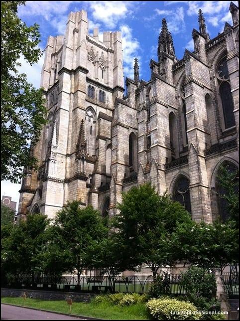 Igreja St John de Divine Nova York - Columbia University em Nova York