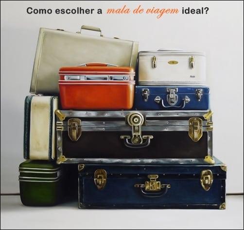 como escolher a mala de viagem ideal - Como escolher a mala de viagem ideal?