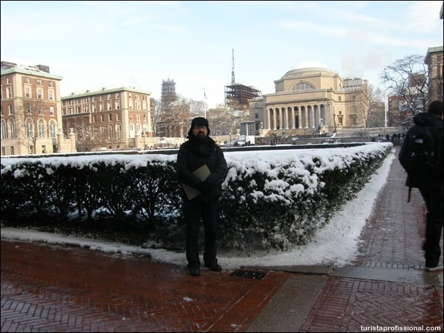 nova iorque - Columbia University em Nova York