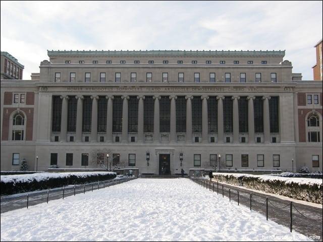 nova york viagem - Columbia University em Nova York