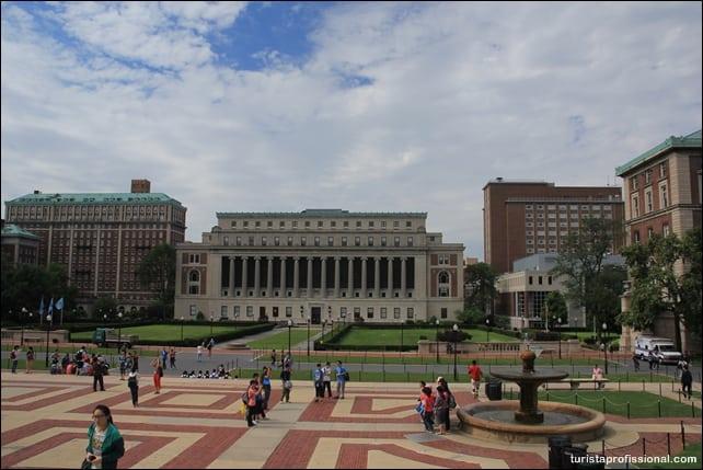 o que fazer em nova york - Columbia University em Nova York