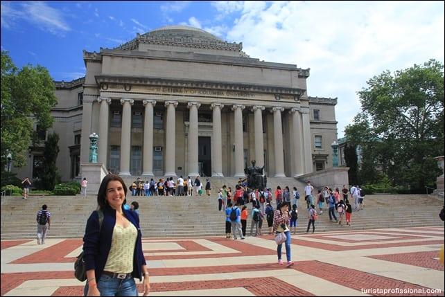 o que ver em nova york - Columbia University em Nova York