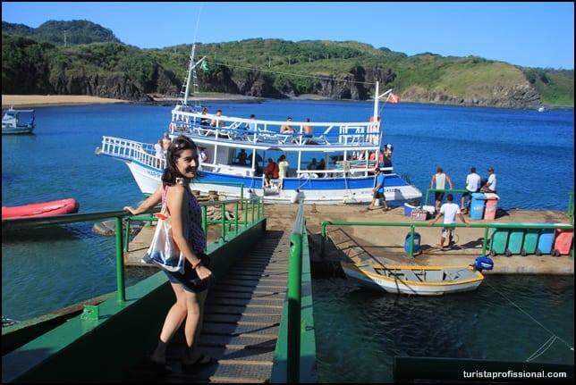 passeio de barco em fernanddo de noronha - Passeio de barco em Fernando de Noronha