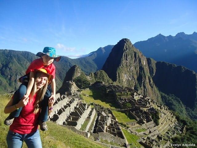 viagem ao Peru com criança