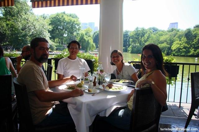 restaurante central park - O que fazer no Central Park