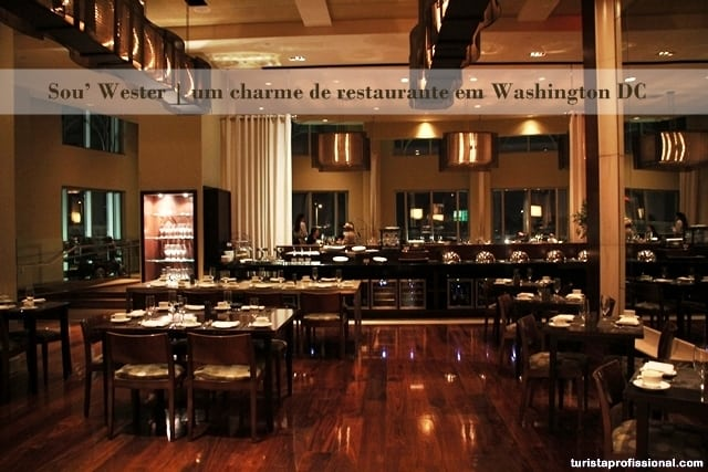 restaurante em Washington DC