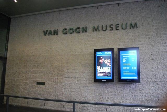 o que visitar em Amstedam - Visitando o Museu Van Gogh em Amsterdam