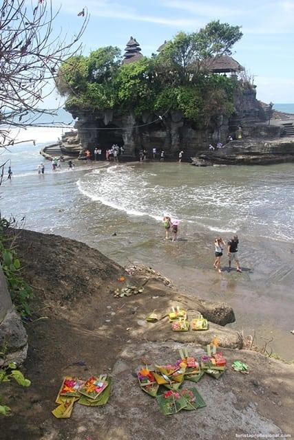 o que visitar em Bali2 - Tanah Lot, um dos templos símbolos de Bali