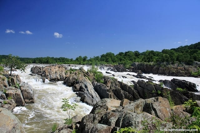 o que visitar em Washington1 - Great Falls Park: mini cataratas a 20 minutos de Washington DC