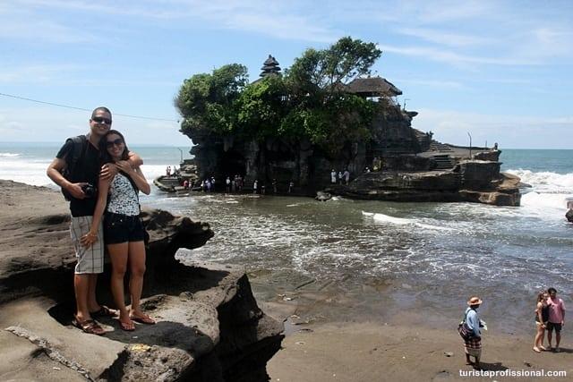 roteiro Bali1 - Tanah Lot, um dos templos símbolos de Bali