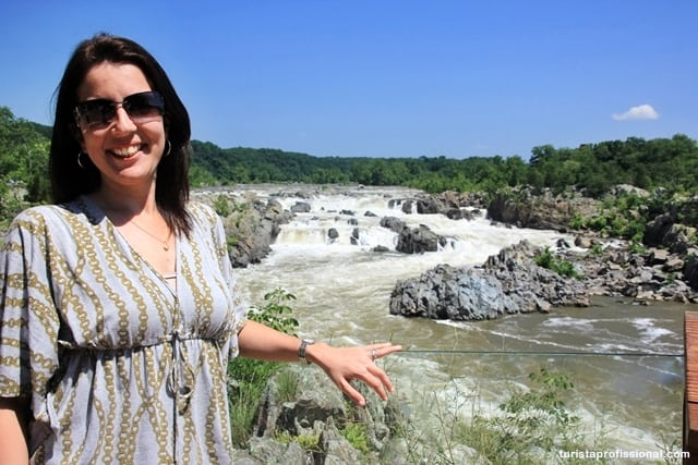 washington dicas - Great Falls Park: mini cataratas a 20 minutos de Washington DC