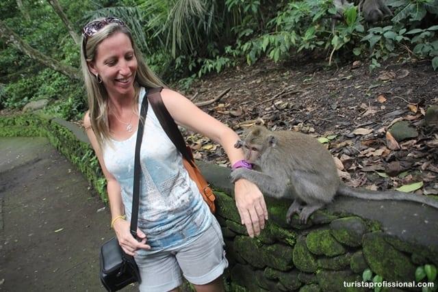 roteiro Bali - Floresta dos Macacos, em Ubud