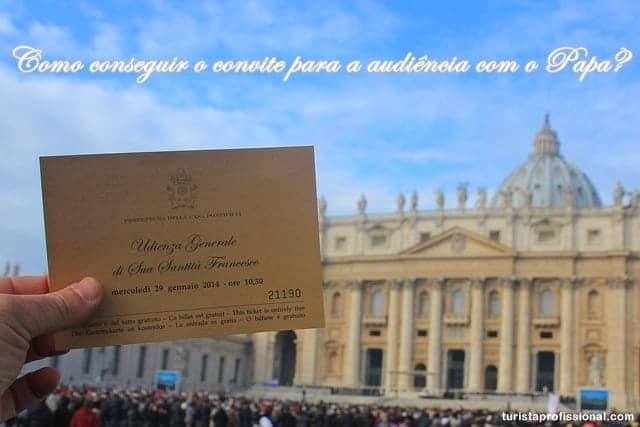 audiência com o Papa1 - Como conseguir o convite para a audiência com o Papa