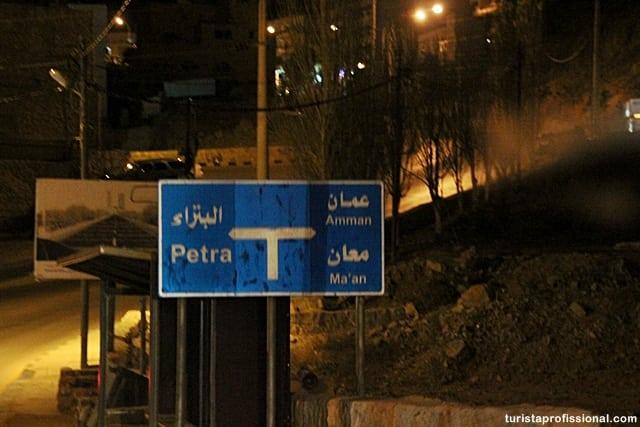 como chegar em Petra