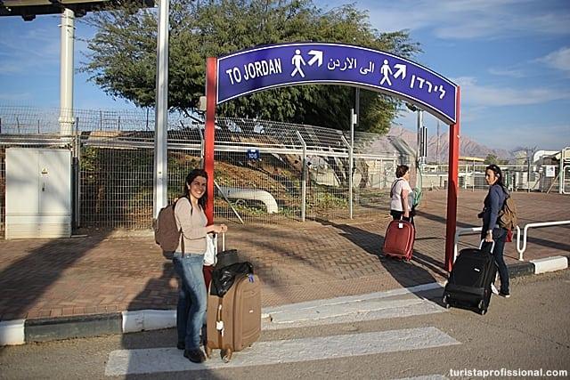 dicas Jordânia - Atravessando a pé a fronteira entre Israel e Jordânia
