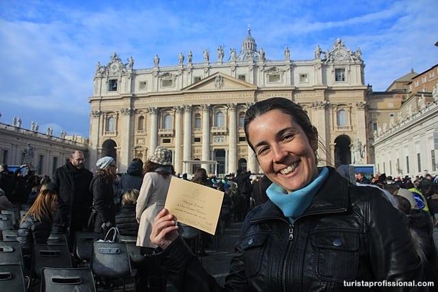 dicas de Roma - Como conseguir o convite para a audiência com o Papa