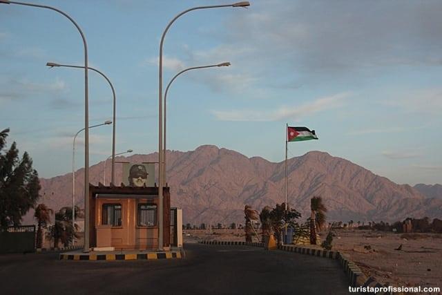 fronteira israel jordania - Atravessando a pé a fronteira entre Israel e Jordânia