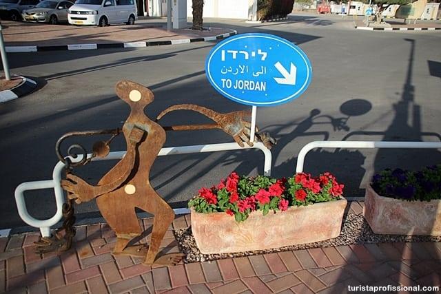 fronteira - Atravessando a pé a fronteira entre Israel e Jordânia