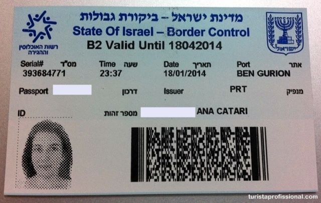 imigração israel - Imigração em Israel: reze para entrar e pague para sair