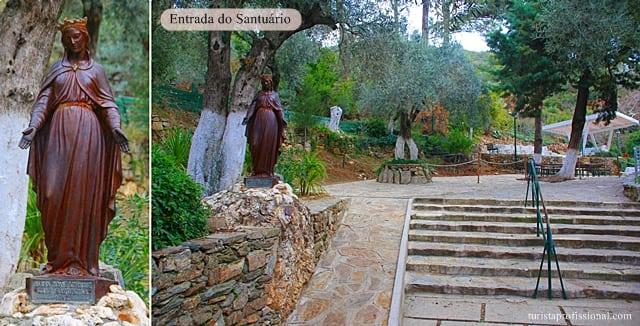 o que fazer - Visita à Casa de Maria, mãe de Jesus