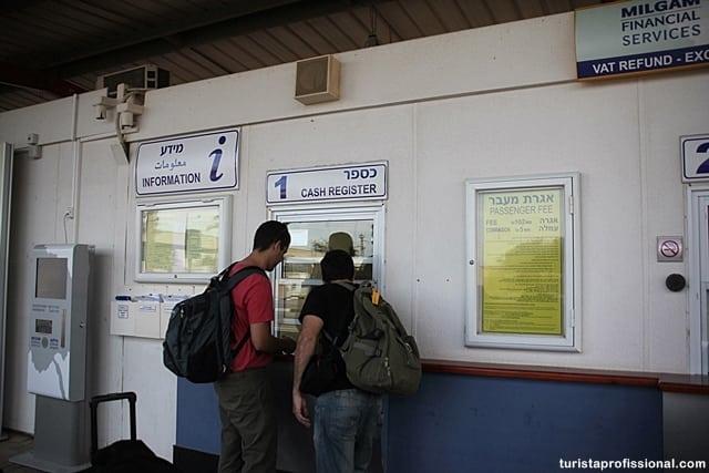 o que ver em israel - Atravessando a pé a fronteira entre Israel e Jordânia