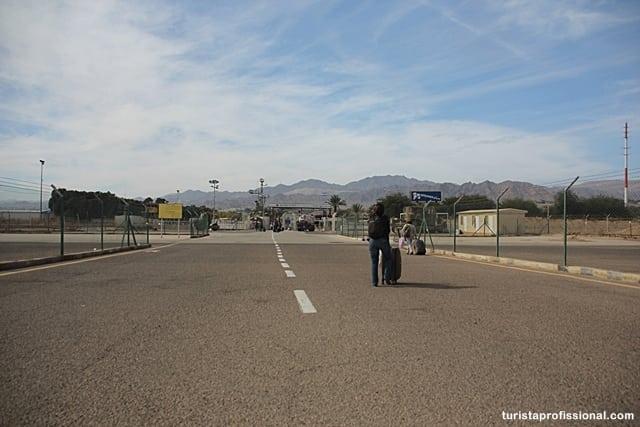 o que visitar2 - Atravessando a pé a fronteira entre Israel e Jordânia