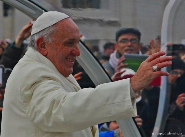 turismo religioso - Olhares | Vendo o Papa de pertinho, no Vaticano