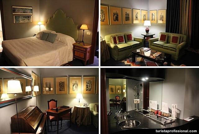 viagem romântica - hotel de luxo em Roma