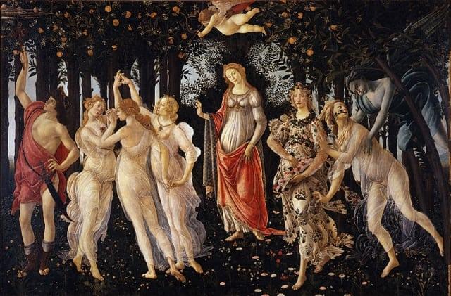 800px Botticelli primavera - Dicas para visitar a Galeria Uffizi em Florença (sem fila)