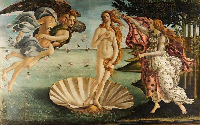 800px Sandro Botticelli   La nascita di Venere   Google Art Project   edited - Dicas para visitar a Galeria Uffizi em Florença (sem fila)