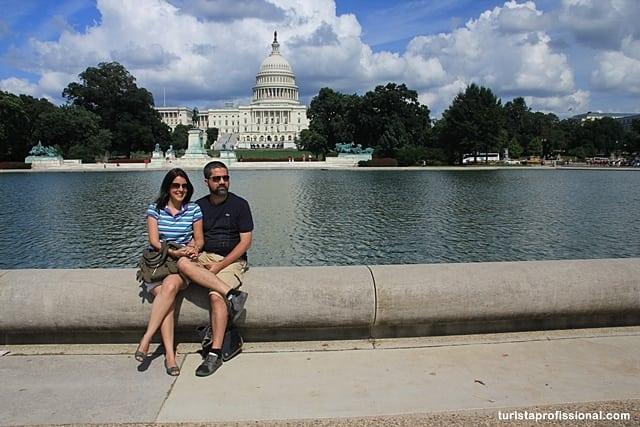 Lua de mel em Washington