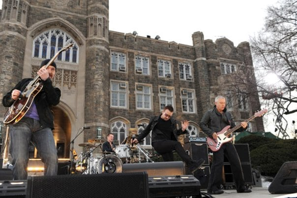 U2 Bono Vox show ruas de Dublin Irlanda - Roteiro U2 em Dublin e arredores