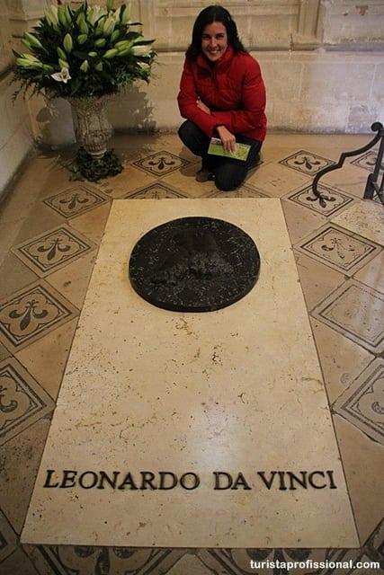 dicas da frança - Onde visitar as obras de Leonardo da Vinci