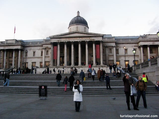museus em Londres National Gallery