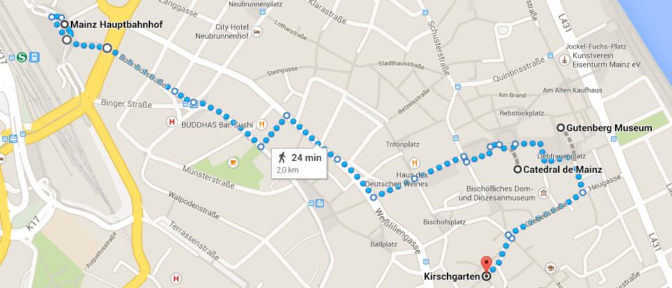 roteiro Mainz Alemanha