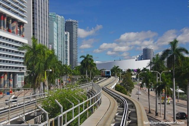 dicas Miami - Como se locomover - de graça! - pelo centro de Miami