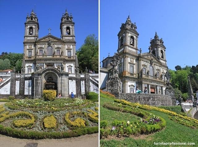 santuário em Braga - Roteiro de um dia em Braga, a Roma Portuguesa