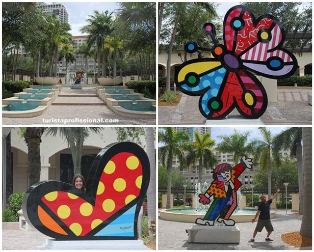 turismo1 - Nosso encontro com Romero Britto em Miami
