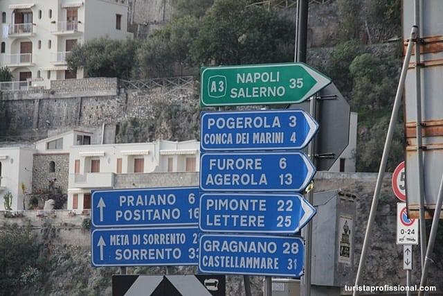 viagem de carro - Dicas da Costa Amalfitana para quem vai pela primeira vez