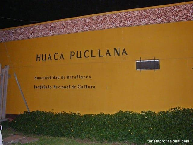 Huaca Pucllana - Jantando dentro de um sítio arqueológico em Lima, Peru