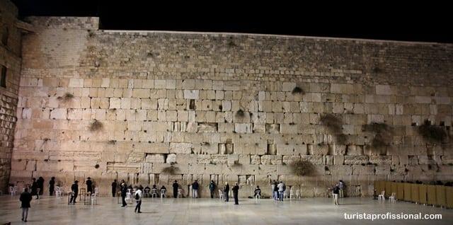 Jerusalém - Olhares - Muro das Lamentações em Jerusalém