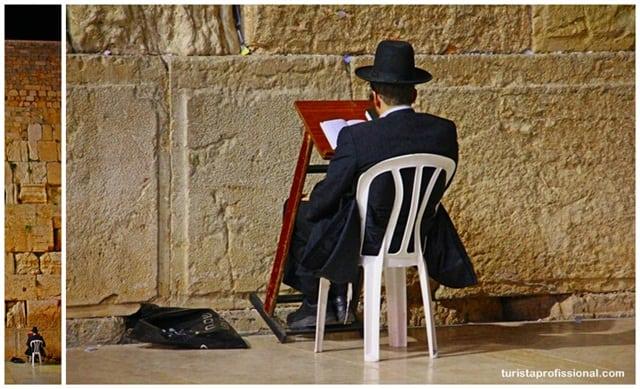 atrações turísticas - Olhares - Muro das Lamentações em Jerusalém