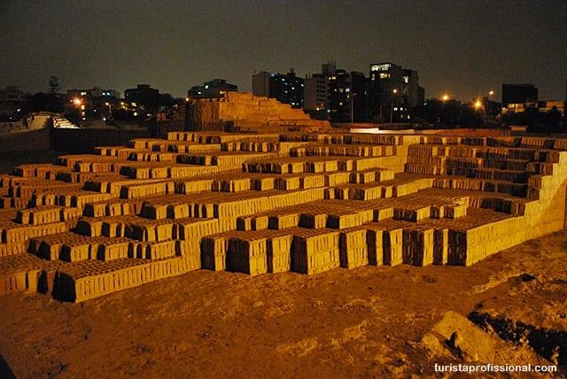 sítio arqueológico em Lima